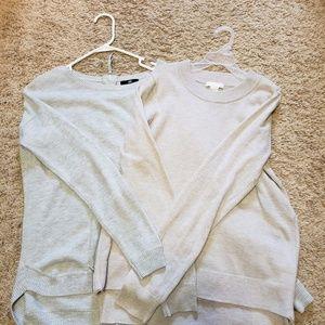 2 H&M Sweaters